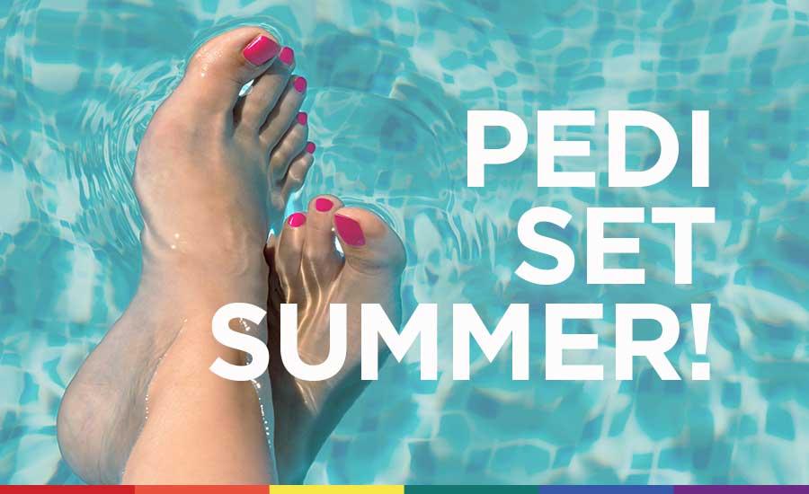 Léto je vplném proudu, je čas na perfektní pedikúru!
