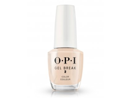 OPI Gel Break Lacquer Barely Beige
