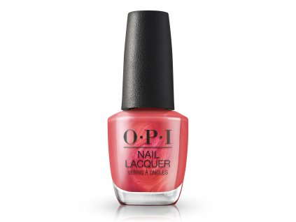 OPI Nail Lacquer Paint the Tinseltown Red