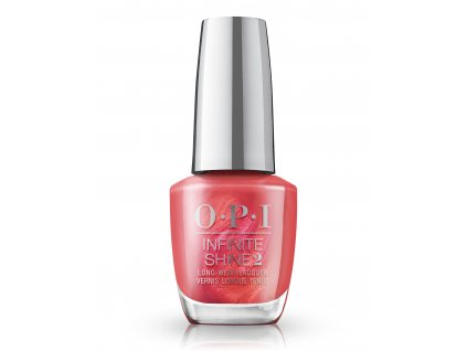 OPI Infinite Shine Paint the Tinseltown Red
