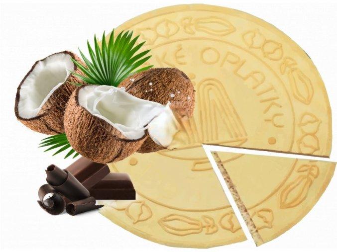 Lázeňské oplatky Kokosové