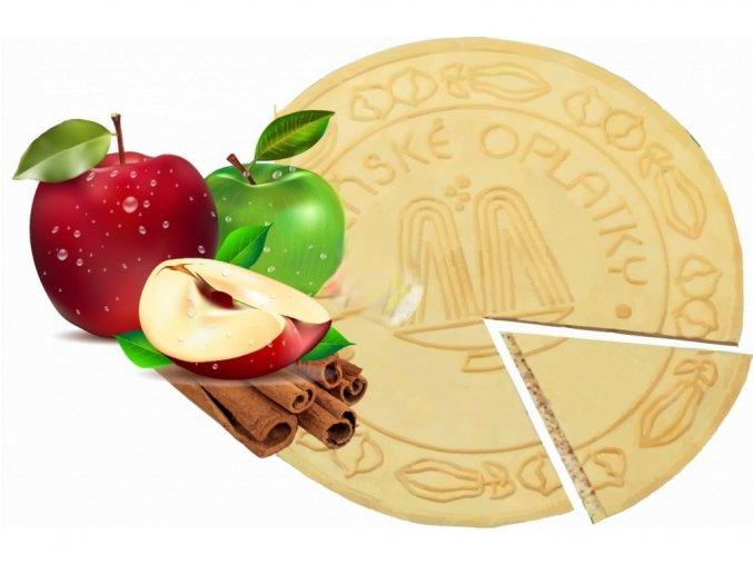 Lázeňské oplatky Jablko se skořicí