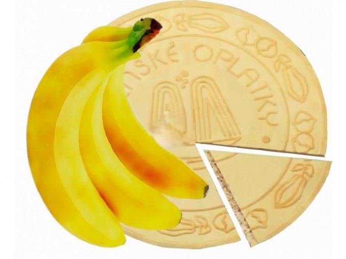 Lázeňské oplatky bananové