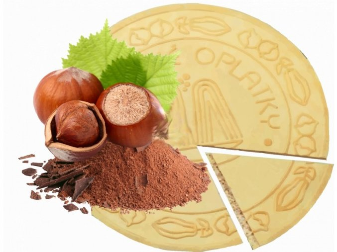 Lázeňské oplatky Oříško Čokoládové