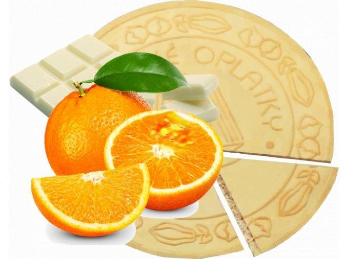 Lázeňské oplatky Pomerančové