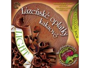 Lázeňské oplatky Poděbrady Kakaové Light 5ks