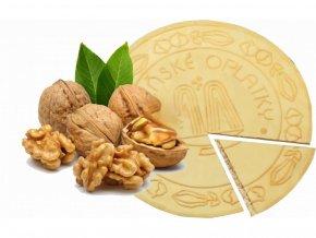 Lázeňské oplatky - Vlašský ořech