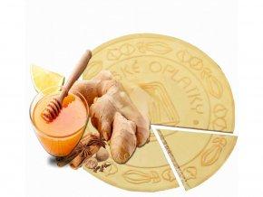 Lázeňské oplatky - Zázvor a Med