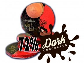 Lázeňské oplatky Dark kakao 72%2