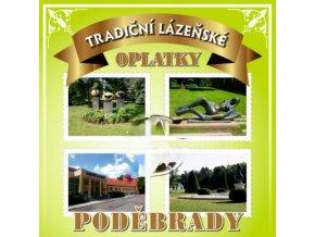 Lázeňské oplatky Poděbrady PODĚBRADY - 2 3ks