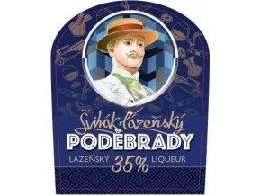 Bylinný likér Poděbrady -alkohol 35%.