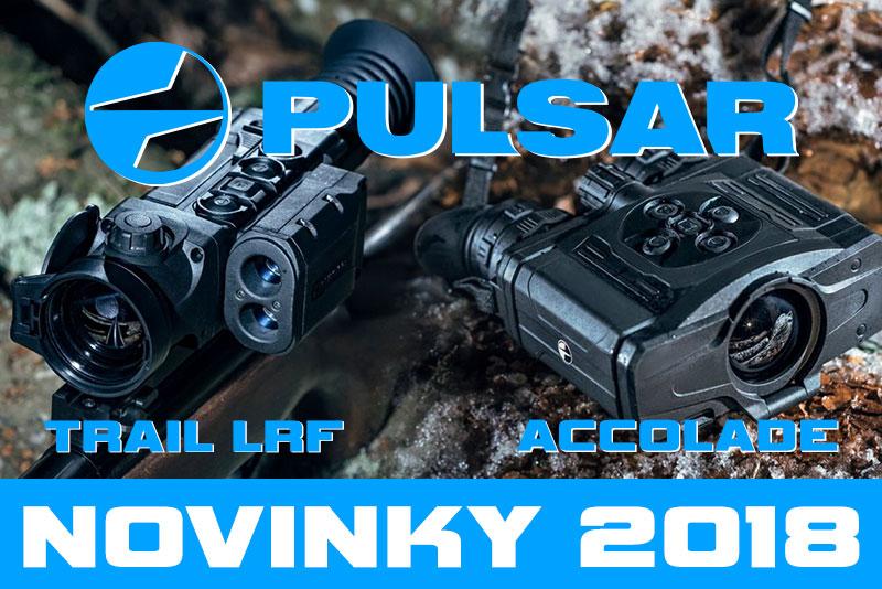 Novinky 2018 - Pulsar TRAIL LRF a Pulsar ACCOLADE