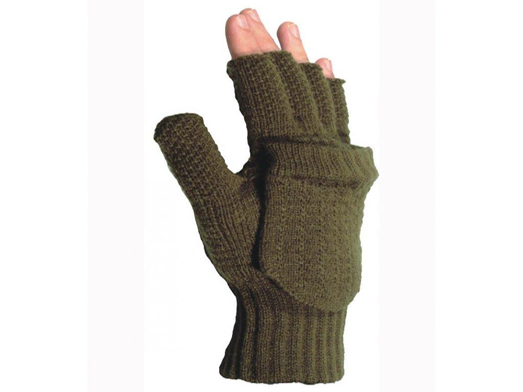 Afars Rukavice pletené bez prstů