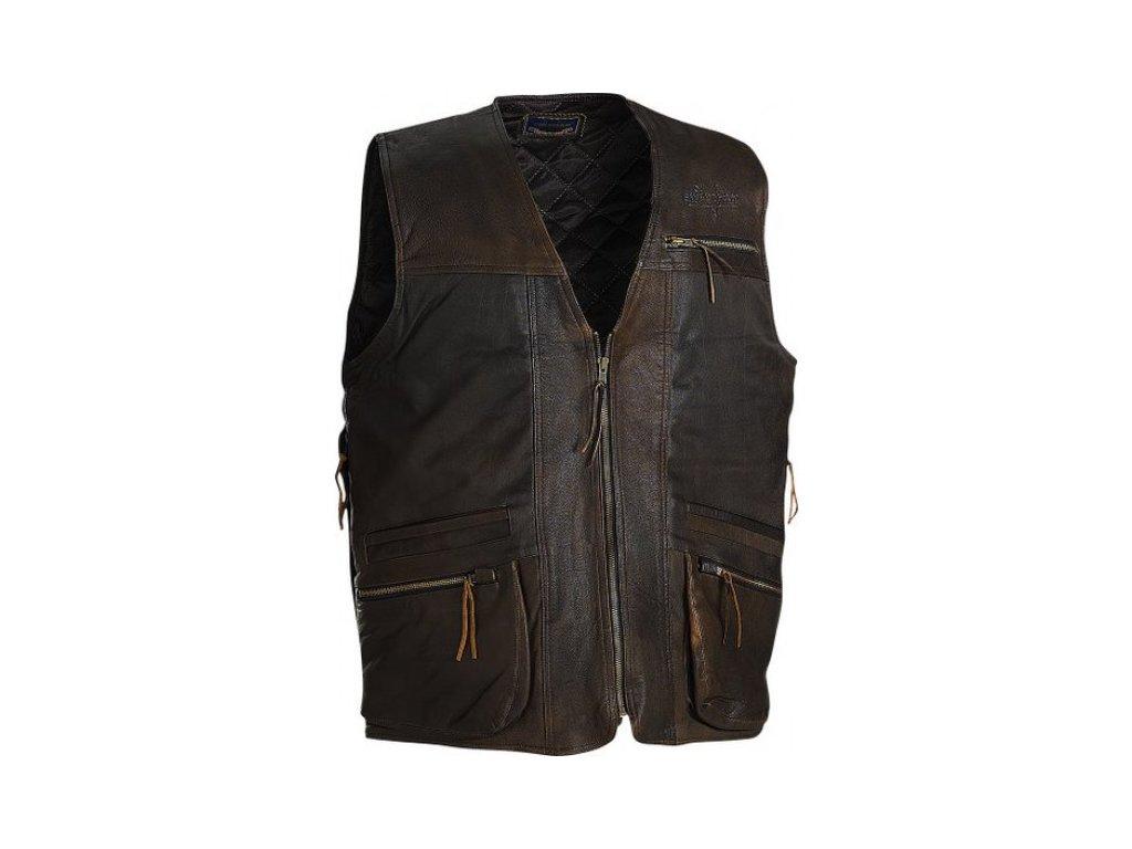 Swedteam Kožená vesta Bull Leather
