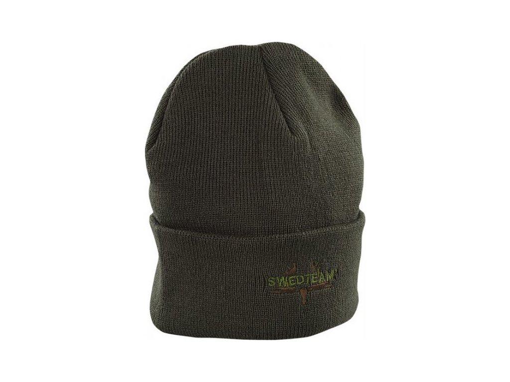 Swedteam Pletená čepice zelená