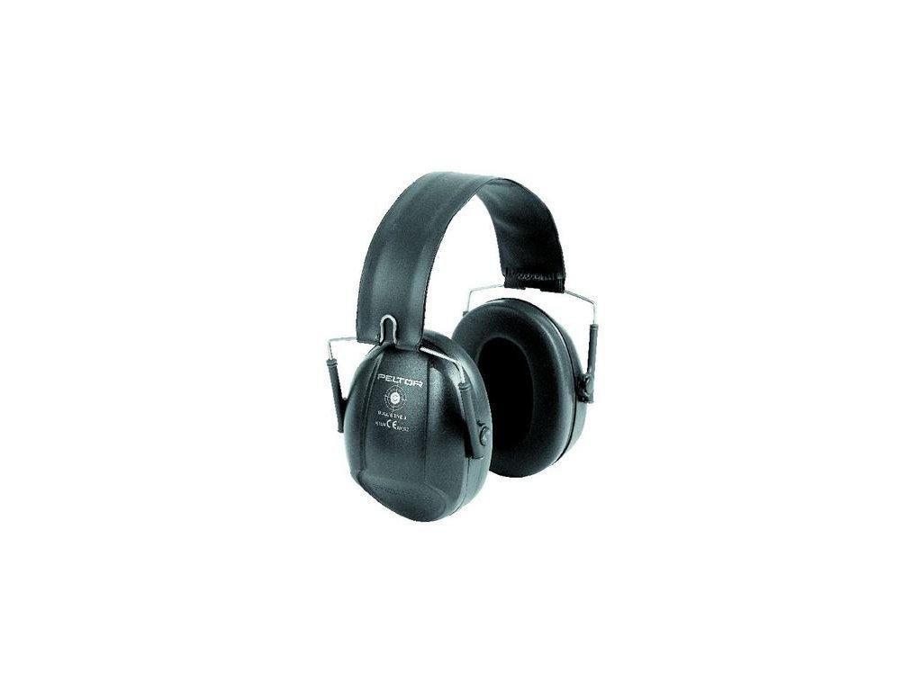3M PELTOR Bull´s Eye I  H515FB černá střelecká sluchátka se skládacím obloukem