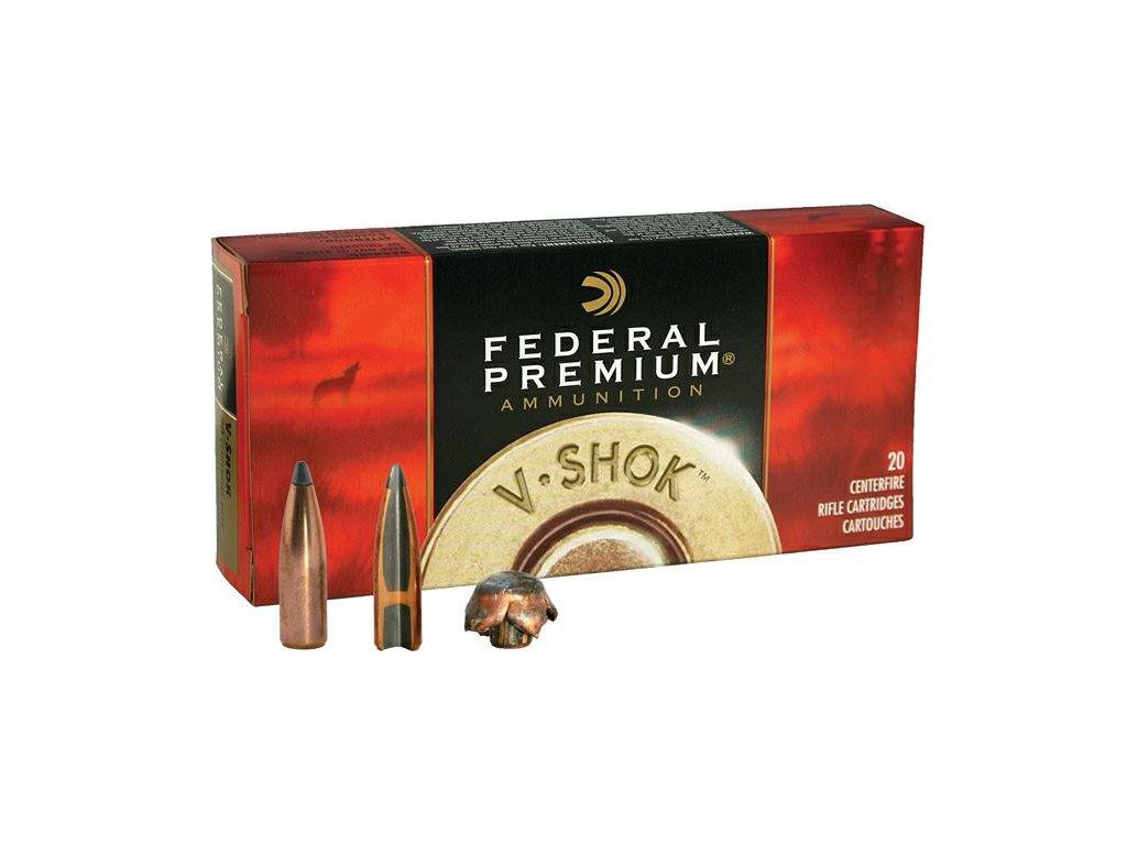 Federal .22-250 Rem. Vital Shok, Nosler Partition