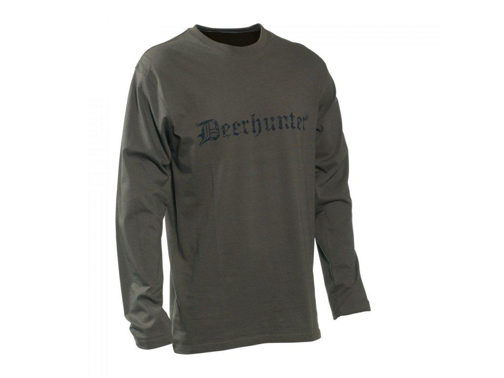 Deerhunter logo tričko dlouhý rukáv