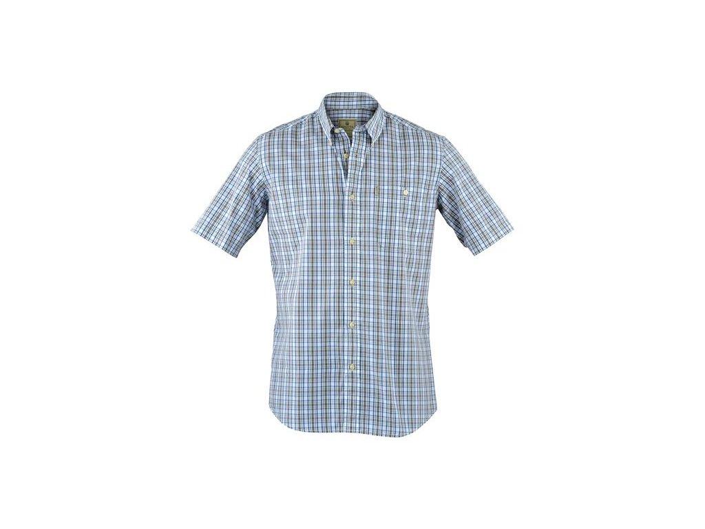 Beretta košile s kr. rukávem DripDry - modrá