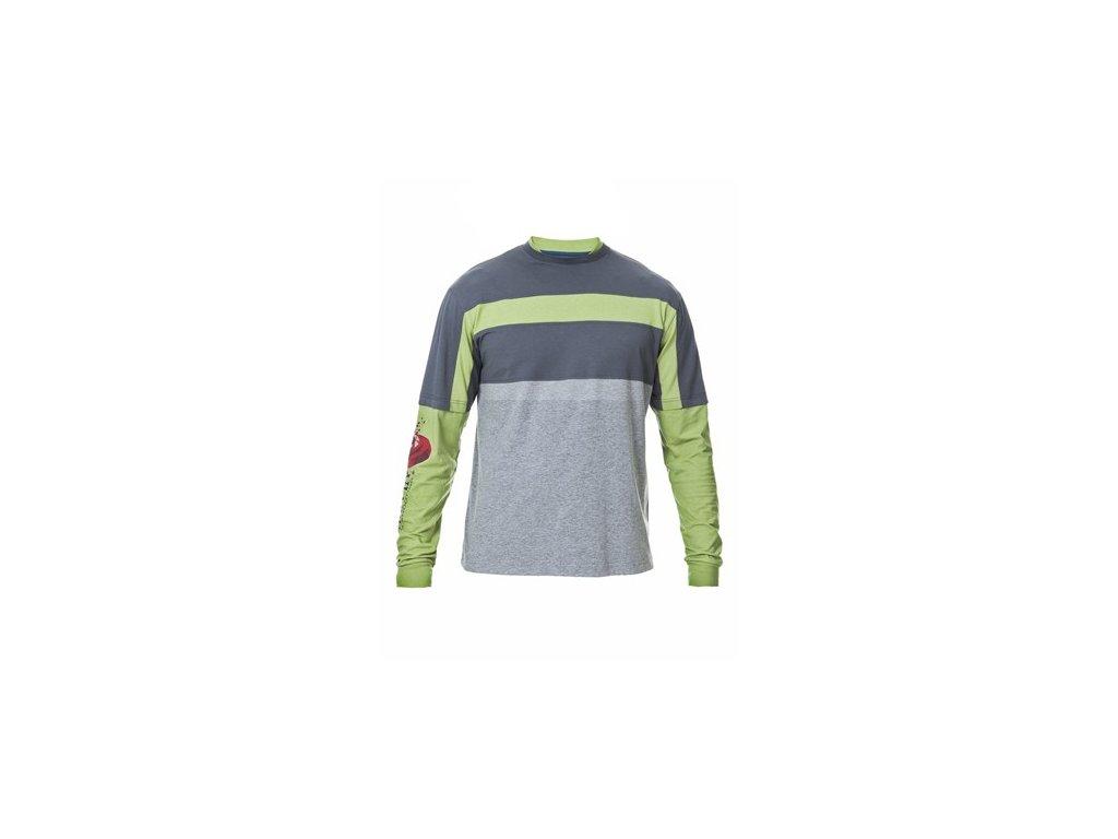 Beretta tričko s dl. rukávem Shooting - zelené