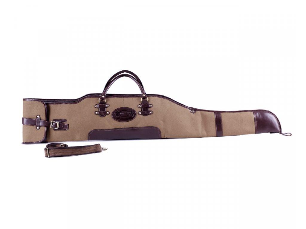 Pouzdro na dlouhou zbraň (stavitelná délka - khaki)