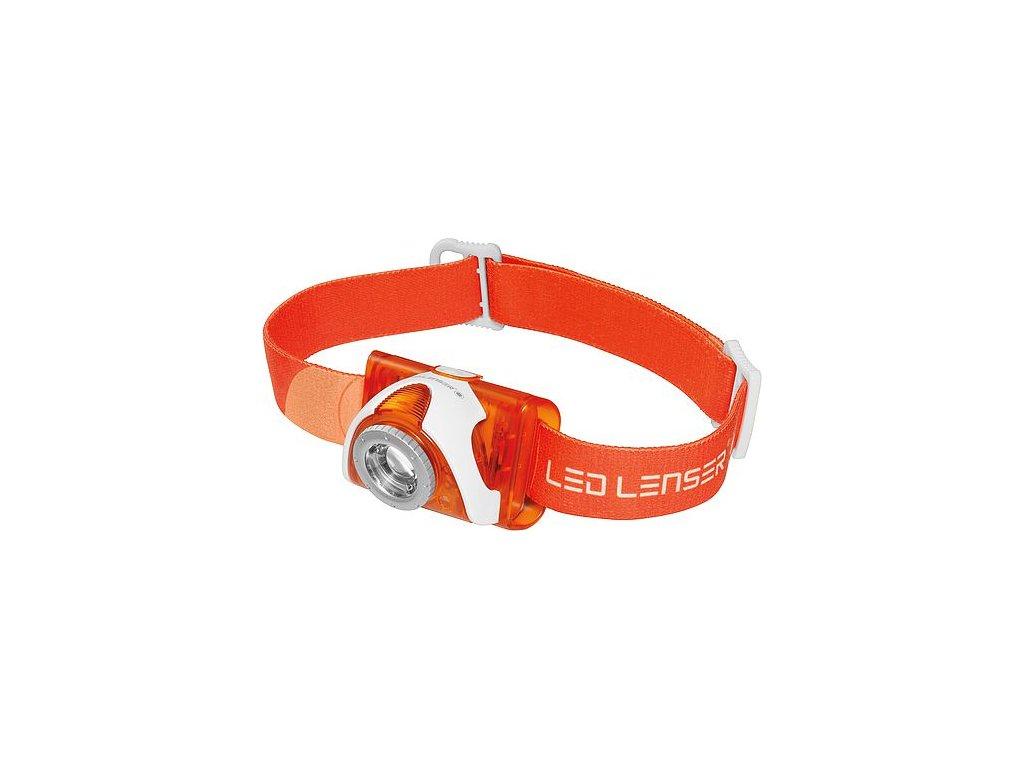 LED Lenser čelovka SEO 3