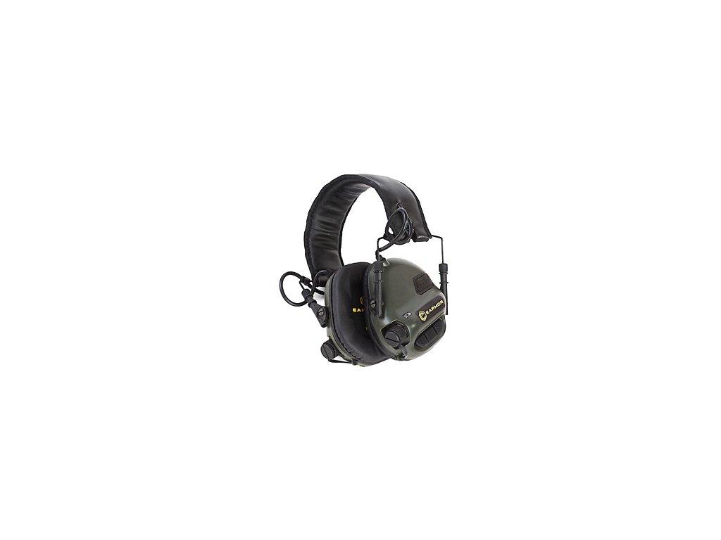 sluchatka elektronicka earmor m31 mod3 green original