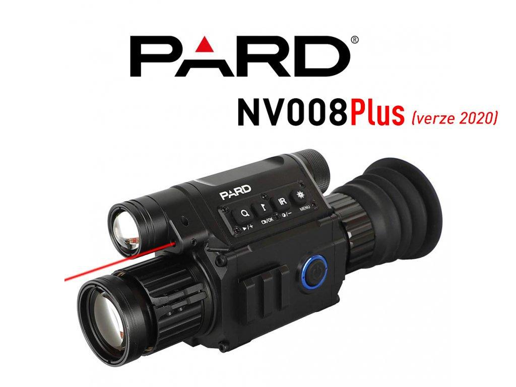 ZAMĚŘOVAČ PARD NV008+ (verze 2020)  při poruše poskytneme jiný přístroj *** DÁREK - 2 ks baterie 3400mAh s ochranou ZDARMA ***