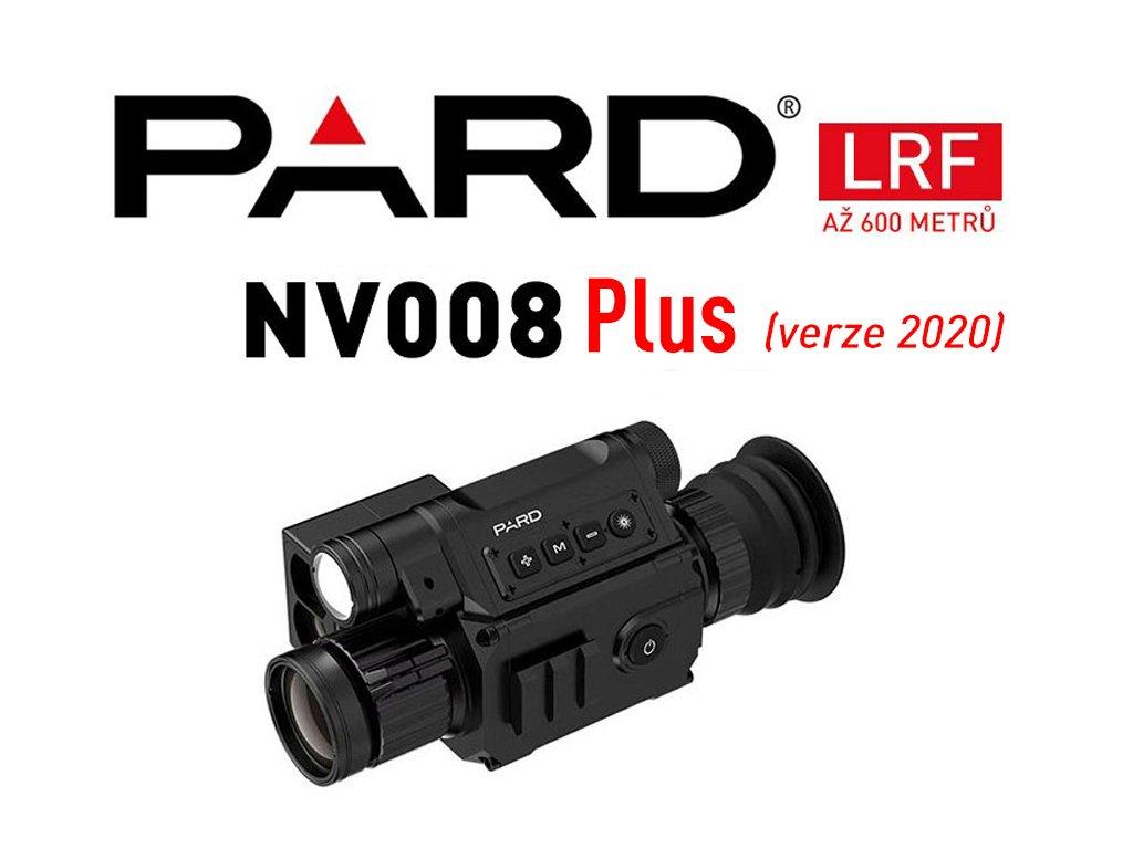 ZAMĚŘOVAČ PARD NV008+ LRF (verze 2020)  *** DÁREK - 2 ks baterie 3400mAh s ochranou ZDARMA ***