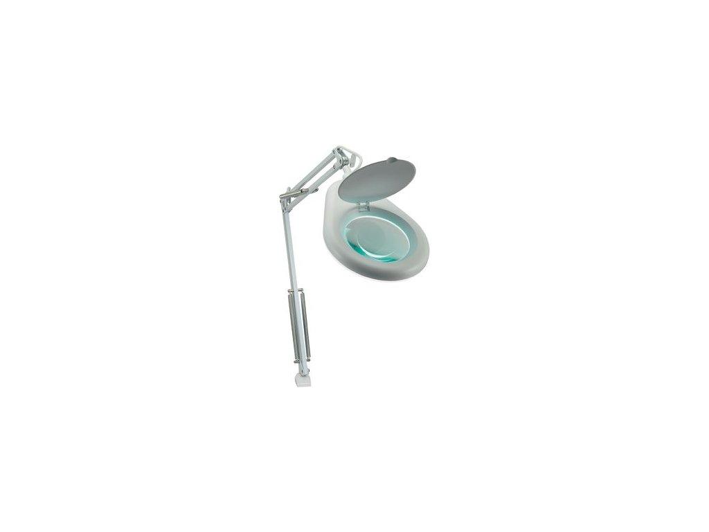 Lupa Stolní lupa Toolcraft s osvětlením, 22 W, 3D