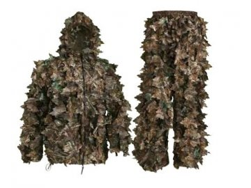 Swedteam maskovací set 3D kamufláž WOOD Leaf Camo