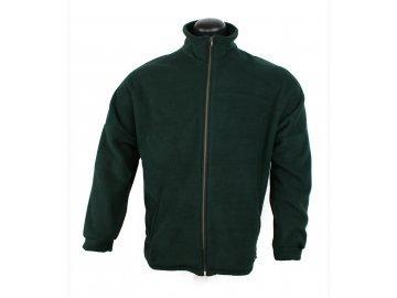 Afars Bunda Fleece, dlouhý zip, raglánový rukáv