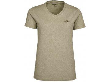 118 020 T shirt dámský béžový