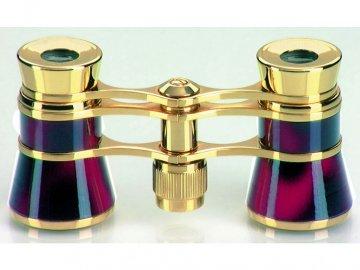 Dalekohled Eschenbach Glamour 3x25 burgundy effect
