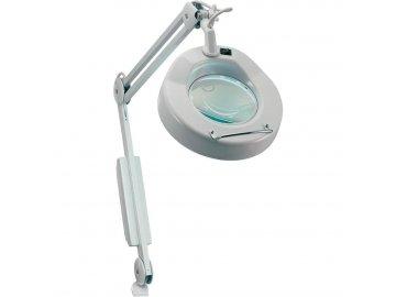 Lupa Stolní lupa s osvětlením Toolcraft 821663 22 W, 3D