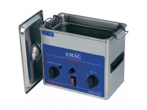 Ultrazvuková čistička Emag EMMI 30HC, 3 l, 200 W, 240 x 135 x 100 mm, nerez
