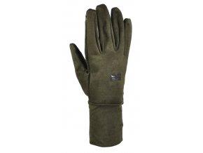 Hillman Lovecké zimní rukavice Windproof Gloves - dub