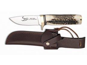 Albainox lovecký nůž 8,5 cm jelení paroh
