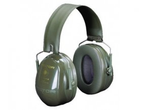 3M PELTOR Bull´s Eye II olivová střelecká sluchátka se skládacím obloukem
