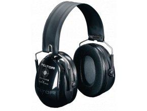 3M PELTOR Bull´s Eye II černá střelecká sluchátka se skládacím obloukem