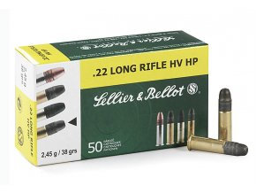Sellier & Bellot .22 LR HV HP 2,45g