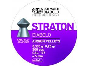 Diabolo JSB Straton cal. 4,50mm 500 ks