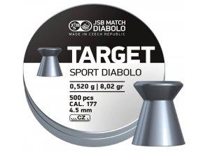 Diabolo JSB Target Sport cal. 4,50mm 500 ks
