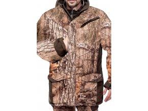 Hillman Bolt Coat zimní bunda - kamufláž 3DX