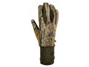 Hillman Lovecké zimní rukavice Windproof Gloves - 3DX kamufláž
