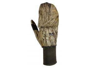 Windproof flap gloves lovecké rukavice s klopou b. 3DX kamufláž