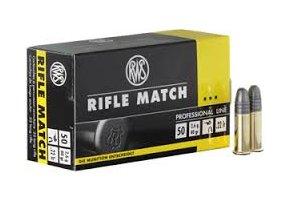 RWS .22LR Rifle Match 2,6g