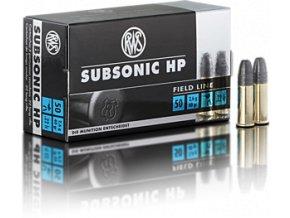 RWS .22LR Subsonic HP 2,6g