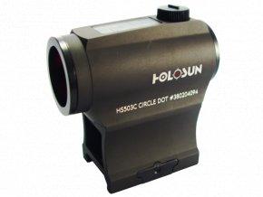 Kolimátor Holosun HS503C 2MOA A 65MOA