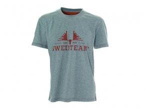 Swedteam SWEDTEAM tričko s potiskem šedé